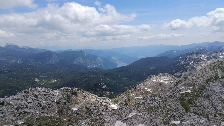 Planina Srednica (Spodnje parkirišče) - Mahavšček (Veliki Bogatin) Čez Prehodce glavna slika
